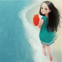 手绘精品卡通女生_www.qqtu8.net