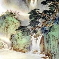 水墨画风景QQ头像图片
