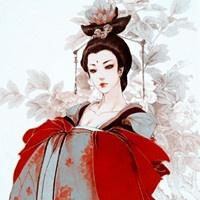 古典美女 卡通头像