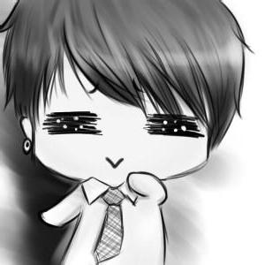 萌萌的可爱的卡通女孩_www.qqtu8.net